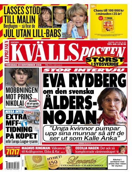 Kvällsposten November 29, 2018 00:00