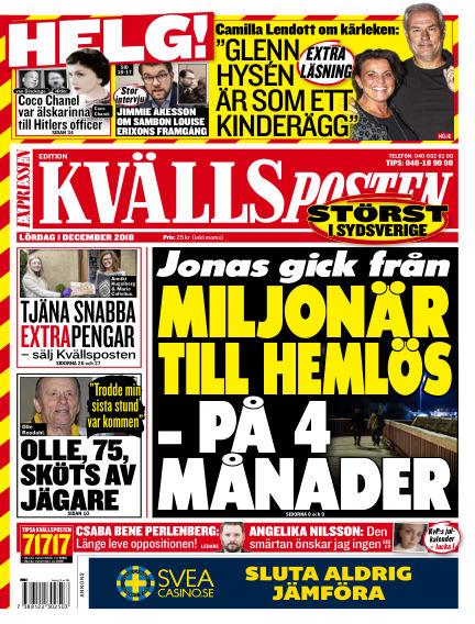 Kvällsposten December 01, 2018 00:00