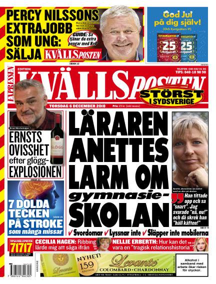 Kvällsposten December 06, 2018 00:00