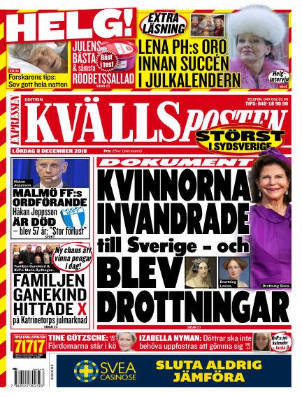 Kvällsposten December 08, 2018 00:00