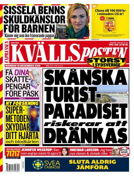 Kvällsposten December 10, 2018 00:00