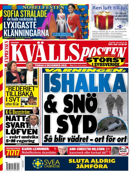 Kvällsposten December 11, 2018 00:00