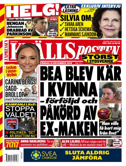 Kvällsposten December 16, 2018 00:00