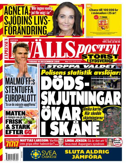 Kvällsposten December 18, 2018 00:00