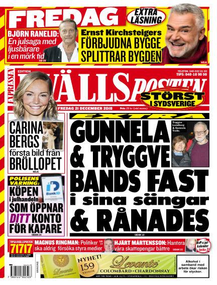 Kvällsposten December 21, 2018 00:00