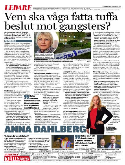 Kvällsposten December 23, 2018 00:00