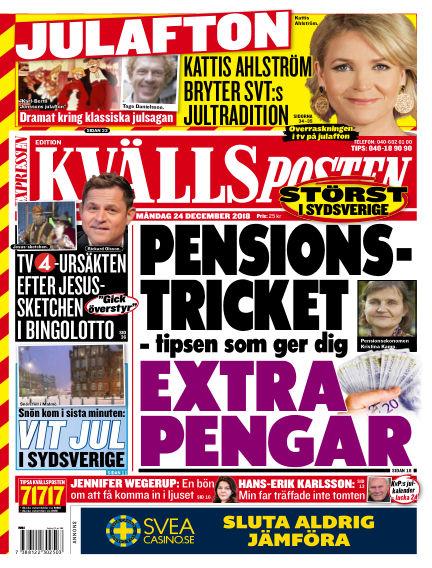 Kvällsposten December 24, 2018 00:00