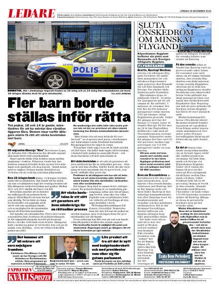 Kvällsposten December 29, 2018 00:00