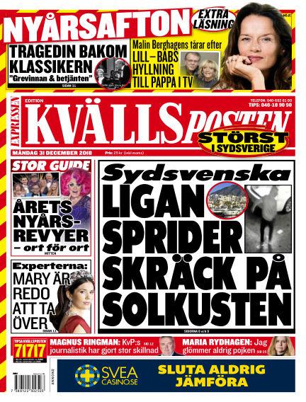 Kvällsposten December 31, 2018 00:00