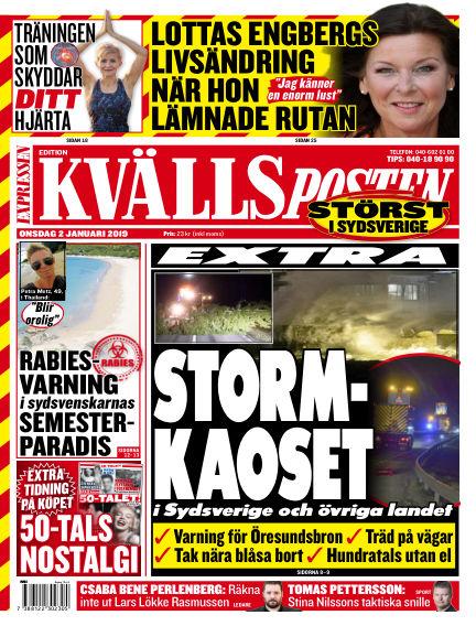 Kvällsposten January 02, 2019 00:00
