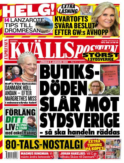 Kvällsposten January 05, 2019 00:00