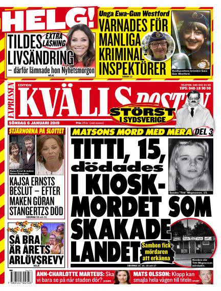 Kvällsposten January 06, 2019 00:00