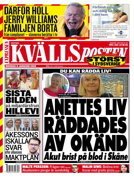 Kvällsposten January 09, 2019 00:00