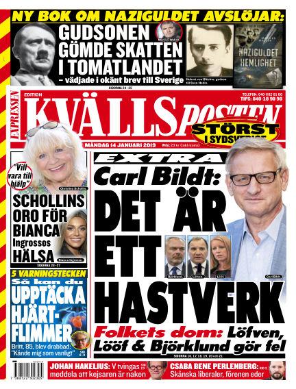 Kvällsposten January 14, 2019 00:00