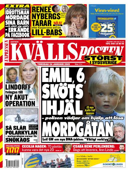 Kvällsposten January 24, 2019 00:00