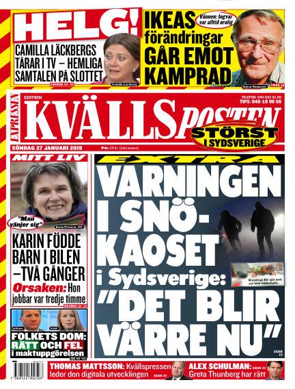 Kvällsposten January 27, 2019 00:00