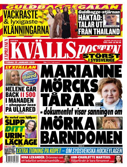 Kvällsposten January 29, 2019 00:00