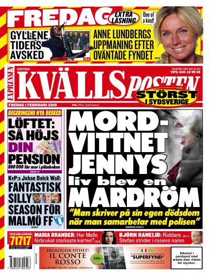 Kvällsposten February 01, 2019 00:00