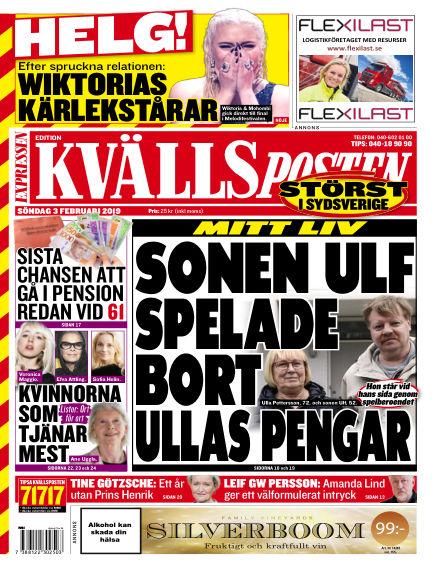 Kvällsposten February 03, 2019 00:00