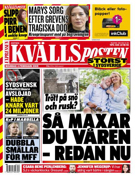 Kvällsposten February 04, 2019 00:00