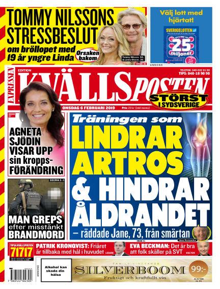 Kvällsposten February 06, 2019 00:00