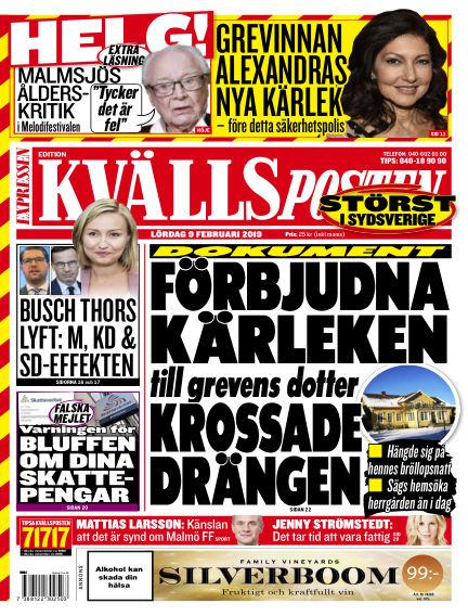 Kvällsposten February 09, 2019 00:00