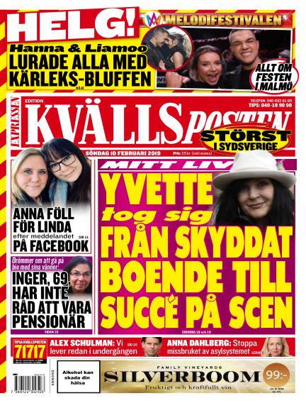 Kvällsposten February 10, 2019 00:00
