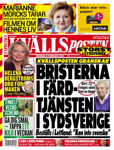 Kvällsposten February 11, 2019 00:00
