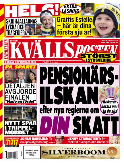 Kvällsposten February 23, 2019 00:00