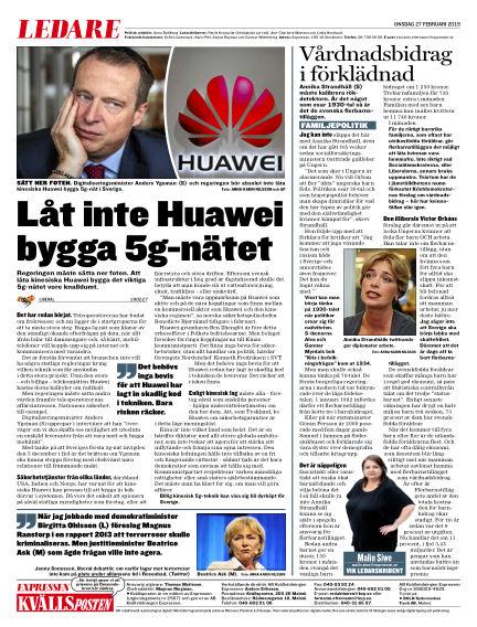 Kvällsposten February 27, 2019 00:00