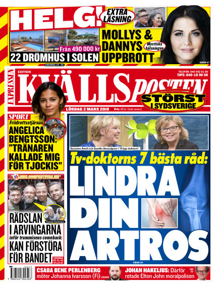 Kvällsposten March 02, 2019 00:00