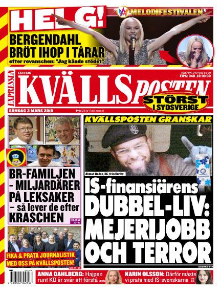 Kvällsposten March 03, 2019 00:00