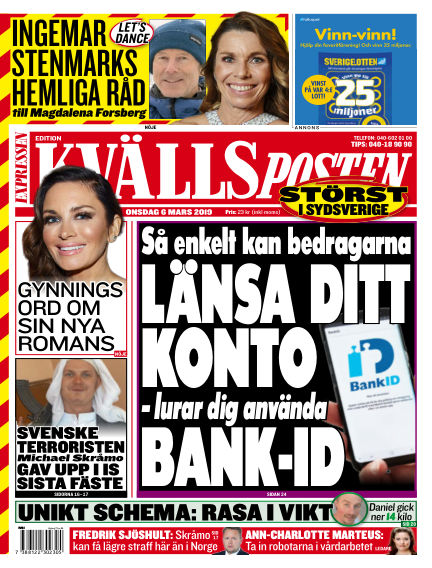 Kvällsposten March 06, 2019 00:00