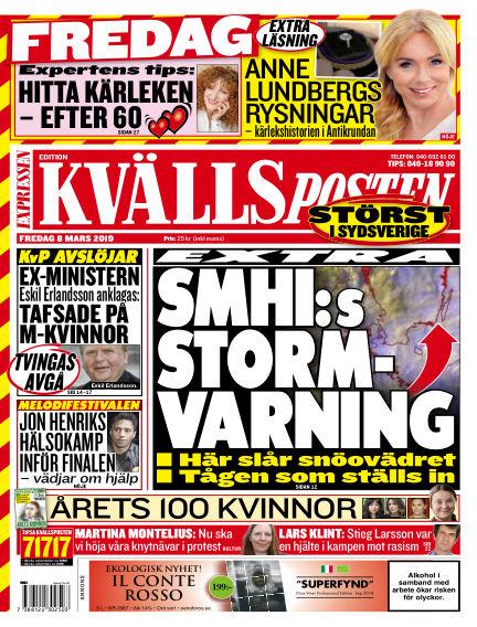 Kvällsposten March 08, 2019 00:00