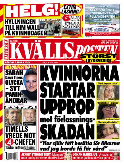 Kvällsposten March 09, 2019 00:00