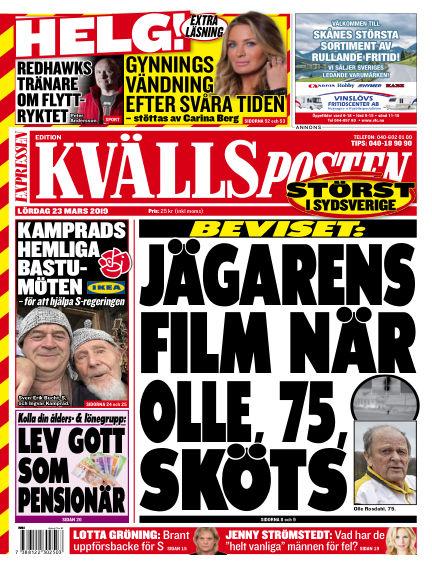 Kvällsposten March 23, 2019 00:00