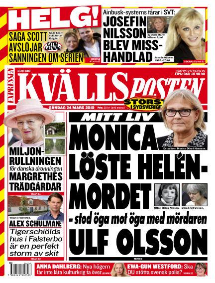 Kvällsposten March 24, 2019 00:00
