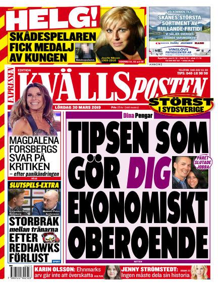 Kvällsposten March 30, 2019 00:00