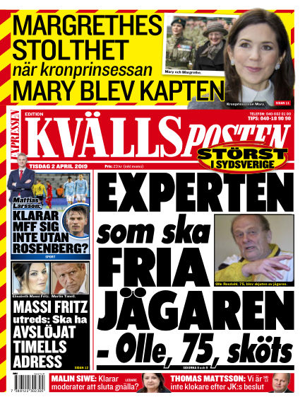 Kvällsposten April 02, 2019 00:00