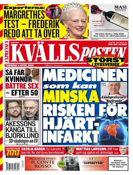Kvällsposten April 04, 2019 00:00