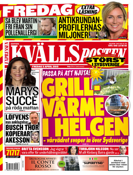 Kvällsposten April 05, 2019 00:00