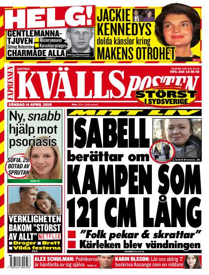 Kvällsposten April 14, 2019 00:00