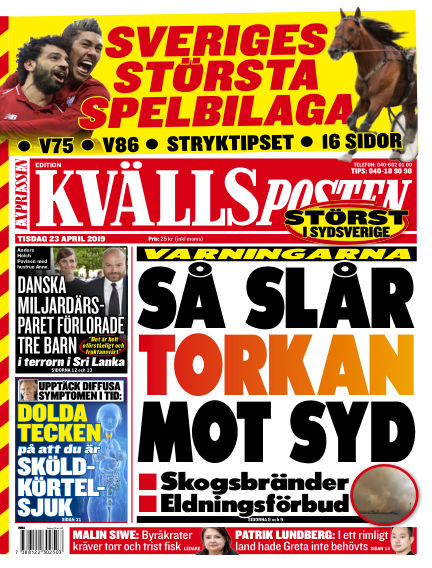 Kvällsposten April 23, 2019 00:00