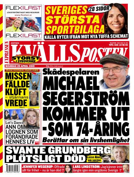 Kvällsposten April 29, 2019 00:00