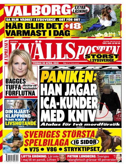 Kvällsposten April 30, 2019 00:00