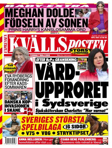 Kvällsposten May 07, 2019 00:00