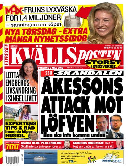 Kvällsposten May 09, 2019 00:00