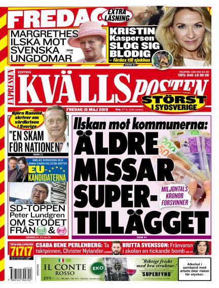 Kvällsposten May 10, 2019 00:00