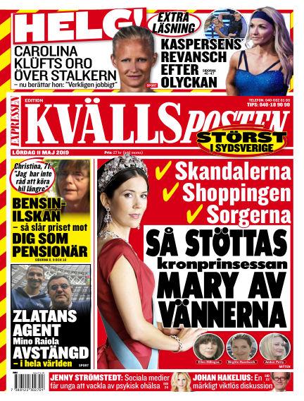 Kvällsposten May 11, 2019 00:00