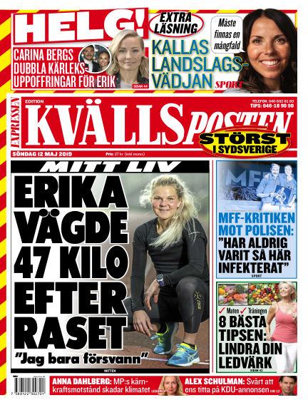 Kvällsposten May 12, 2019 00:00